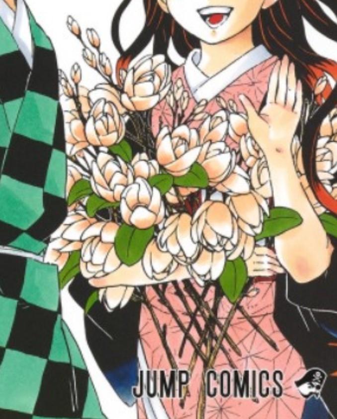 禰豆子の花