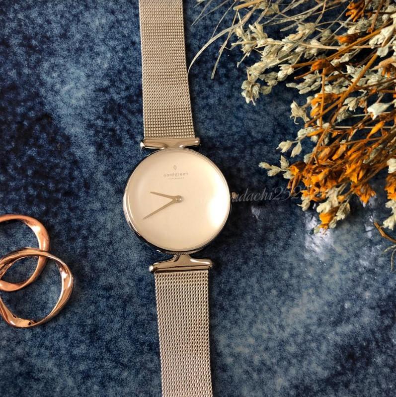 Unicaの腕時計メッシュベルト