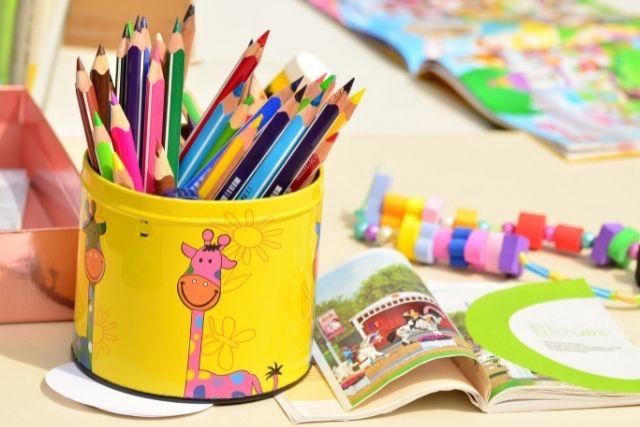 下野紘の子供の幼稚園