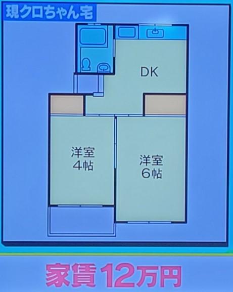 クロちゃんの品川区のマンション